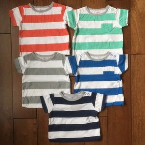 Carter's striped onesies